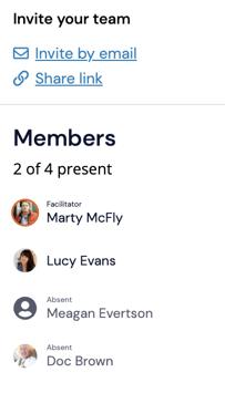 Members Presence List